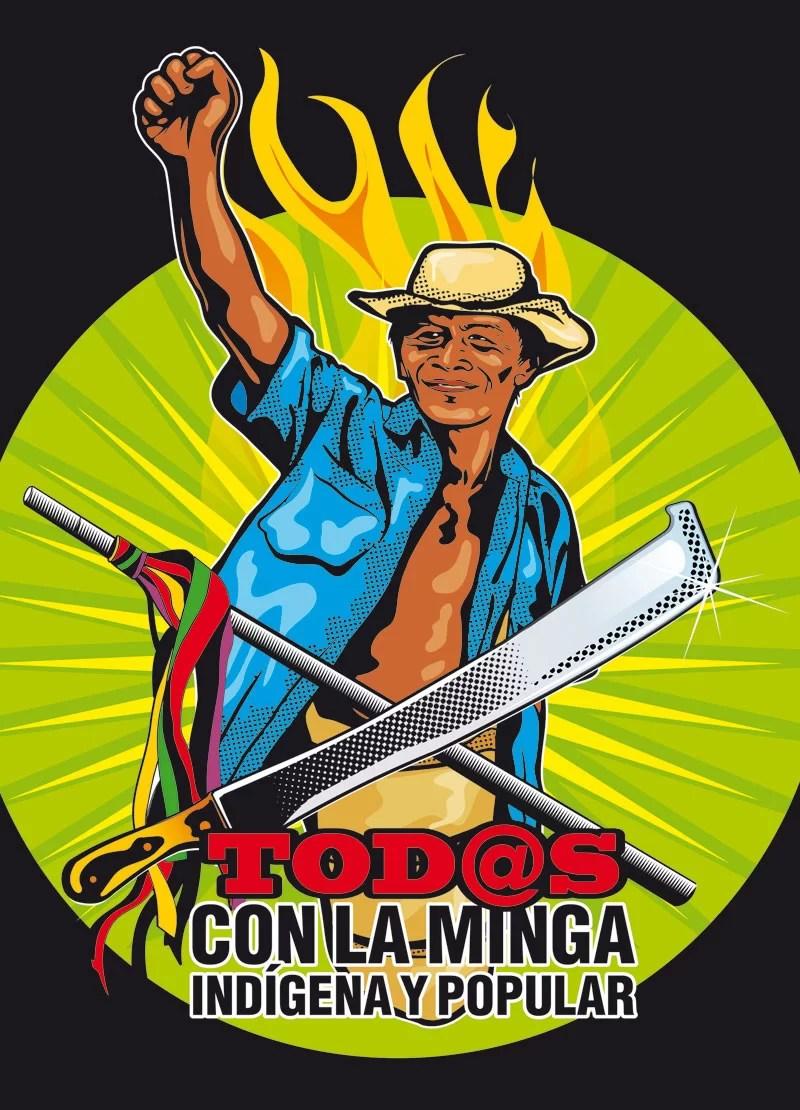 Así está la guerra en Colombia: Minga al nefasto PND de Duque. Paro cívico el 25-A.