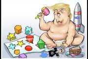 """Trump humanitario: """"No quise matar 150 iraníes, y aún no he vuelto mierda del todo a Venezuela…"""""""
