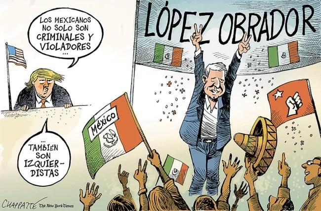 Al pobre López Obrador lo están achicopalando a martillos y manotazos...