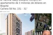"""COMENZARON a aparecer las propiedades de los """"choros humanitarios"""" en Colombia..."""
