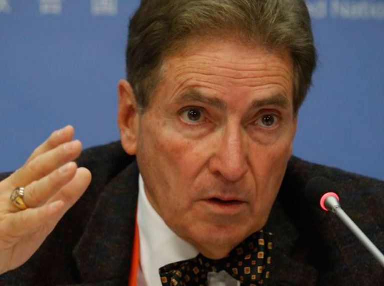 Alfred de Zayas criticó duramente el informe de Venezuela presentado por Bachelet