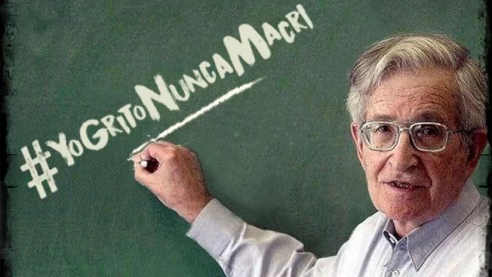 Noam Chomsky contra Macri