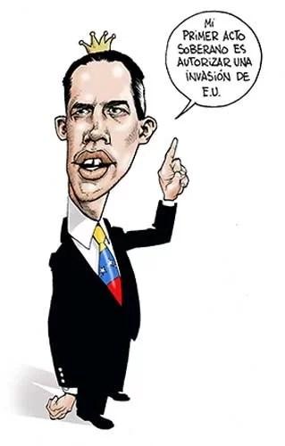 Guaido Agente/CIA-Oficial: La creación de Juan G. – HISTORIA/ cómo el Laboratorio de Cambio de Régimen de los Estados Unidos creó al líder del golpe de Venezuela