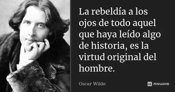 33 frases de Oscar Wilde, 165 años después...