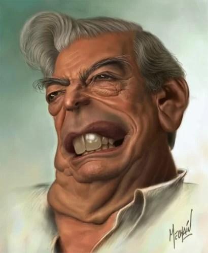 Increíble, lean esta vaina que escribe el canalla Vargas Llosa... conclusiones en el tintero...