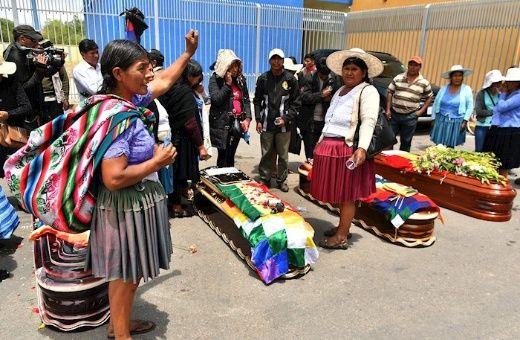 Horribles masacres en Bolivia: ¡PAREN ESO!, La marmota de Bachelet se hace la loca, lo mismo Almagro...