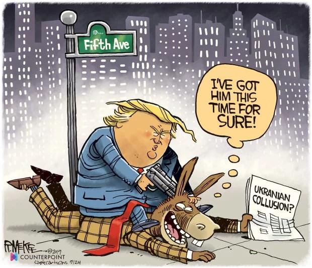 Trump está empichado y nadie lo salvará...