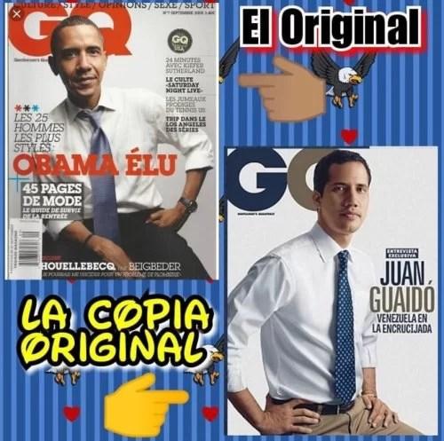 """Impresionante entrevista de la revista """"Forbes Life"""" a Guaidó (acaparó todos los Grammy's como Mejor Mulato Grecolatino…)..."""