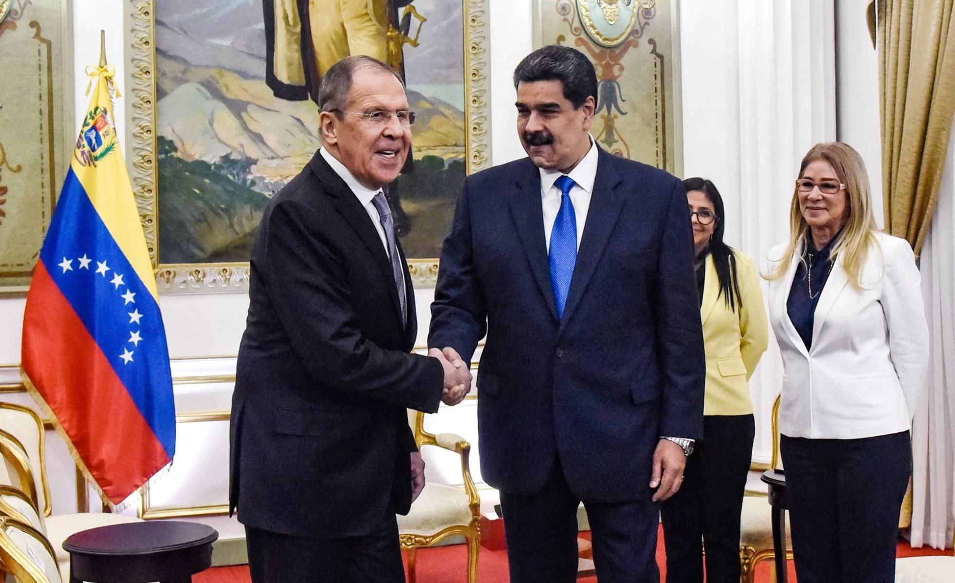 Los gringos reculan y pegan el grito... ante apoyo Ruso a Venezuela...