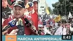 Diosdado Cabello desde la gran marcha en defensa de Conviasa, 10 febrero de 2020 (+Video)