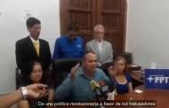 Juan Carlos Guevara Mov. Trabajadores: Las prestaciones sociales deben ser ajustadas en Petro (+Video).