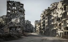 Resultado de imagen para imagenes y fotos de ciudades de siria destruidas