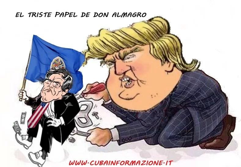 ¿Qué será peor para América Latina, el coronavirus o el hijo de puta de Luis Almagro?....