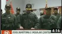 ZODI Marítima repudia acciones extremistas y reitera su lealtad al Pdte. Nicolás Maduro