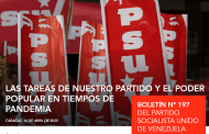 Lea la edición N° 197 del Boletín Informativo del Partido Socialista Unido de Venezuela (PSUV) (+Descarga)