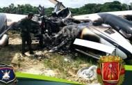 Derribada otra avioneta del narcotráfico colombiano, la número 19 de este año y la 198 desde que la Revolución Bolivariana expulsó a la DEA en 2005...