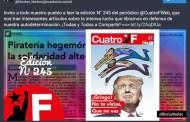 Periódico Cuatro F muestra defensa de la soberanía y autodeterminación de los venezolanos (+Descarga)