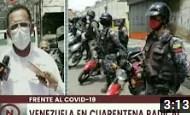Gran Caracas   Más de 400 barreras especiales de contención vigilan cumplimiento de cuarentena (+Video)
