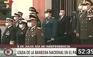 Izada de la Bandera en el Panteón Nacional por los 209 años de la Independencia de Venezuela (+Video)