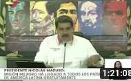 Presidente Nicolás Maduro en acto por los 16 años de la Misión Milagro, 08 julio 2020 (+Video)