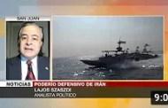 Szaszdi: Nuevas maniobras de Irán muestran su capacidad para defenderse (+Video)