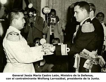 DICCIONARIO DE FARSANTES, el caso del general Jesús María Castro León...