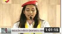 Presidente Maduro en graduación de médicos integrales, 13 octubre 2020 (+Video)