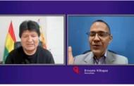 Evo Morales Ayma, expresidente del Estado Plurinacional de Bolivia en 'Aquí Con Ernesto Villegas'