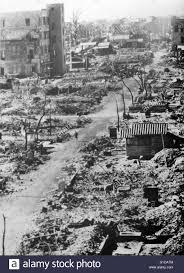Destrucción De Bombardeos Aliados Fotos e Imágenes de stock - Alamy