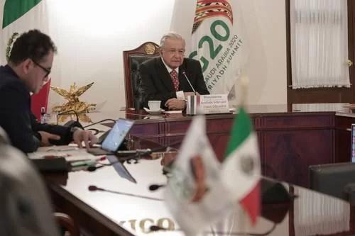 En el G-20 Presidente de México propone vacunación universal gratis contra el Covid-19