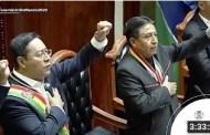 Vea la toma de posesión presidencial de Luis Arce Catácora y David Choquehuanca como Presidente y Vicepresidente del Estado Plurinacional de Bolivia.