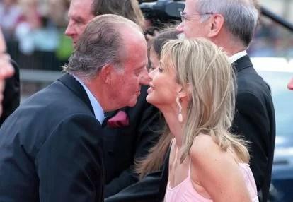 El ex rey Juan Carlos (ladrón y canalla), el de