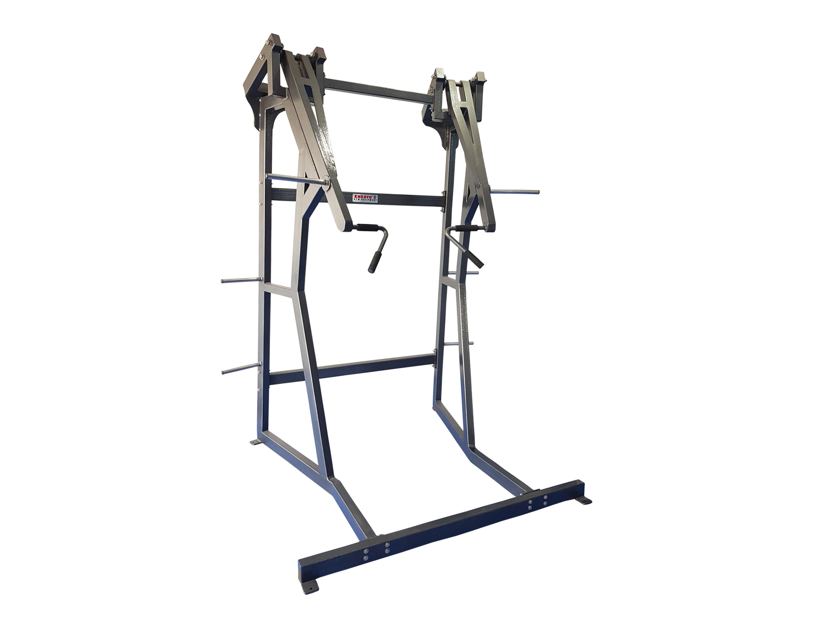 Power Thrust Leverage Plate Load Machine Ensayo Gym