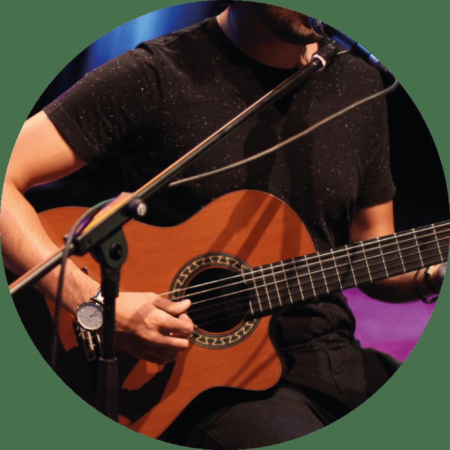 Clases de guitarra en Madrid. Escuela de música en Madrid