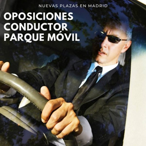 Conductor parque movil