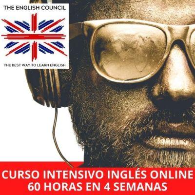 Curso intensivo inglés online 60 horas en 4 semanas