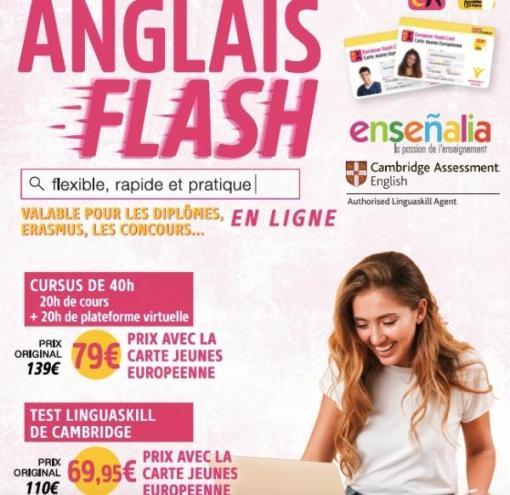 Anglais Flash Plus Carte Jeunes France