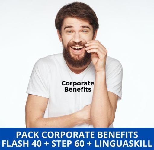 Clases de inglés online Corporate Benefits