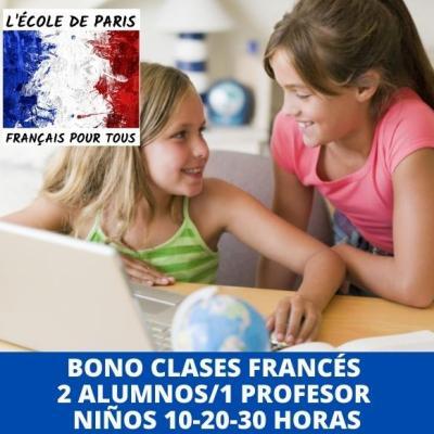 Clases de francés online para niños