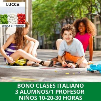 Cursos de italiano para niños online