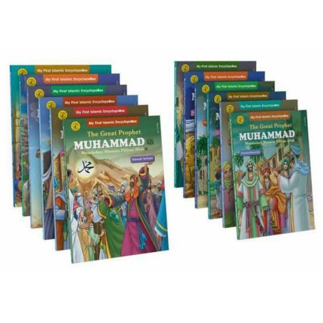 1 Set Ensiklopedia Anak The Great Prophet Muhammad - Sirah Nabawiyah Nabi Muhammad SAW