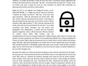 Atividade de textos em português para estrangeiros para CELPE-Bras com um artigo de Roberto Pompeu de Toledo sobre um drama dos tempos modernos: senhas!