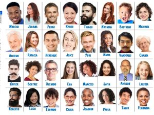 Material online para suas aulas de português para estrangeiros ou língua de herança. Focado na habilidade oral e uso de vocabulário sobre aparência.