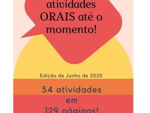 Apostila com TODAS atividades orais de português para estrangeiros que publicamos até o momento. São 54 atividades para complementar suas aulas!