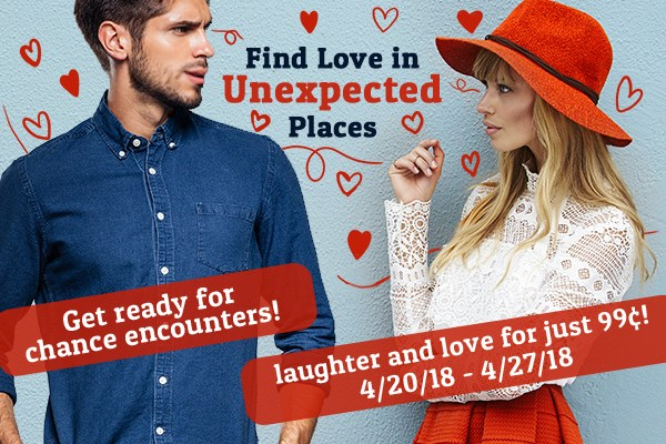 Love in Unexpected Places sale blitz banner