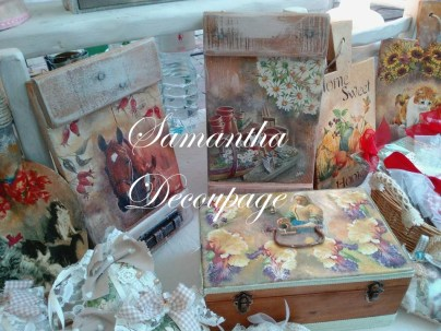 Samantha decoupage