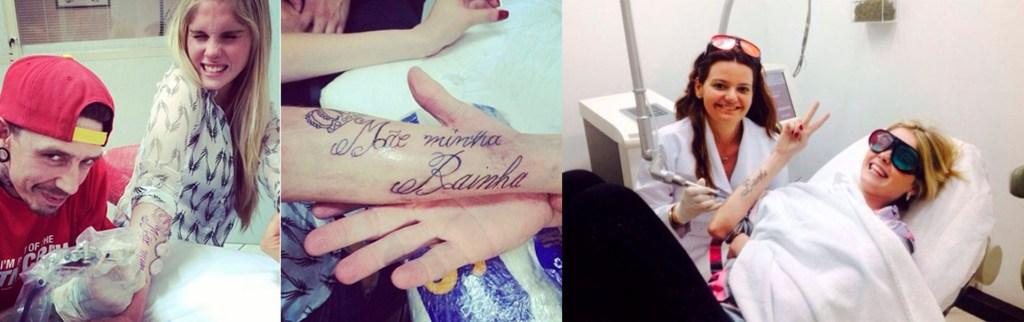 Barbara evans tatuagem