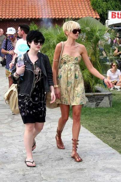 Kelly Osbourne and Kimberly Stewart