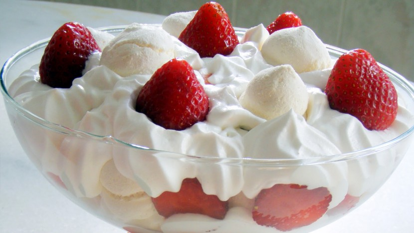 merengue-morangos