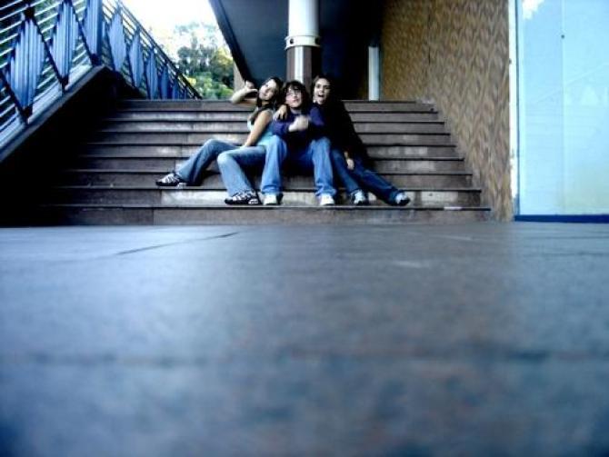 tipica foto de escadaria